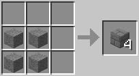 Bloc de briques de pierre