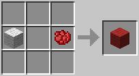 Laine rouge